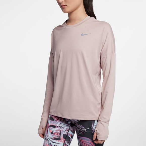 f81ad23f Nike Tops | Womens Dry Element Long Sleeve Running Shirt | Poshmark